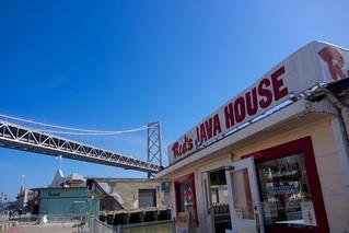 Red's Java House & the Bay Bridge | by Señor Danimal