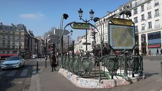 Pigalle Metro Station, Place Pigalle, 9th arrondissement, Paris | by David McKelvey
