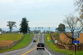 US 30 approaching McPherson Ridge - Gettysburg, PA | by jmd41280