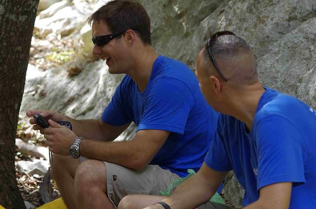 CAVES 2011 Preparatory training Day2 caving preps - copyright ESA-Vittorio Crobu01