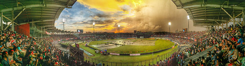 sunset shadow sky people panorama storm colors field clouds stadium panoramic match hdr highdynamicrange hdri skyview iphone hidynamic iphone6