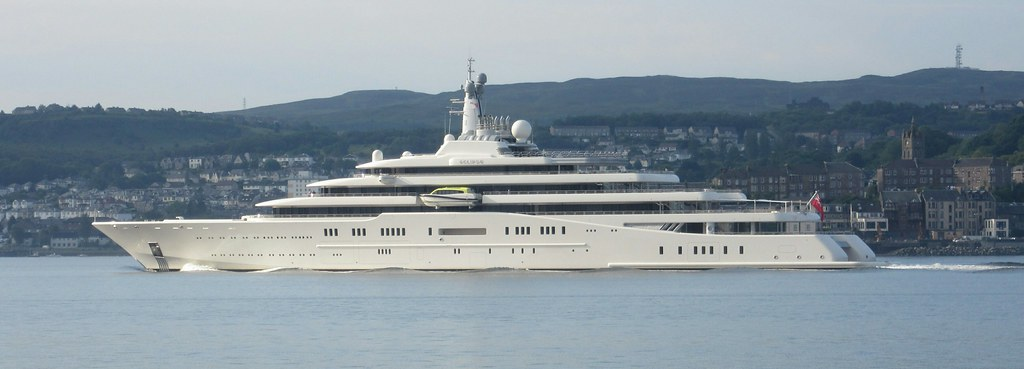 Eclipse Private Yacht Eclipse Visiting Greenock Details A Flickr