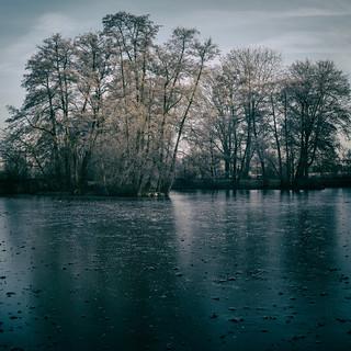 Frozen Lake   by Al Fed