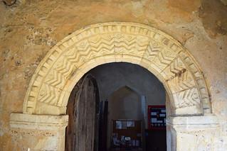 Norman door arch