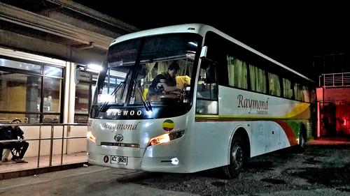 raymond transportation 8268 cubao quezon city naga camarines sur bus daewoo bh117h philippines