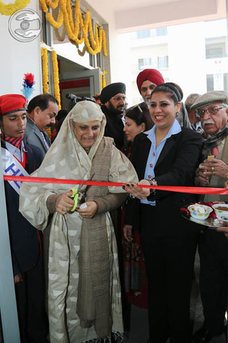 Inauguration of sewing center
