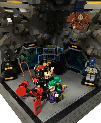 The Bat Family's Cave - Detail 1