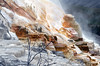 Yellowstone – Mammoth Hot Springs, foto: Karel Janů