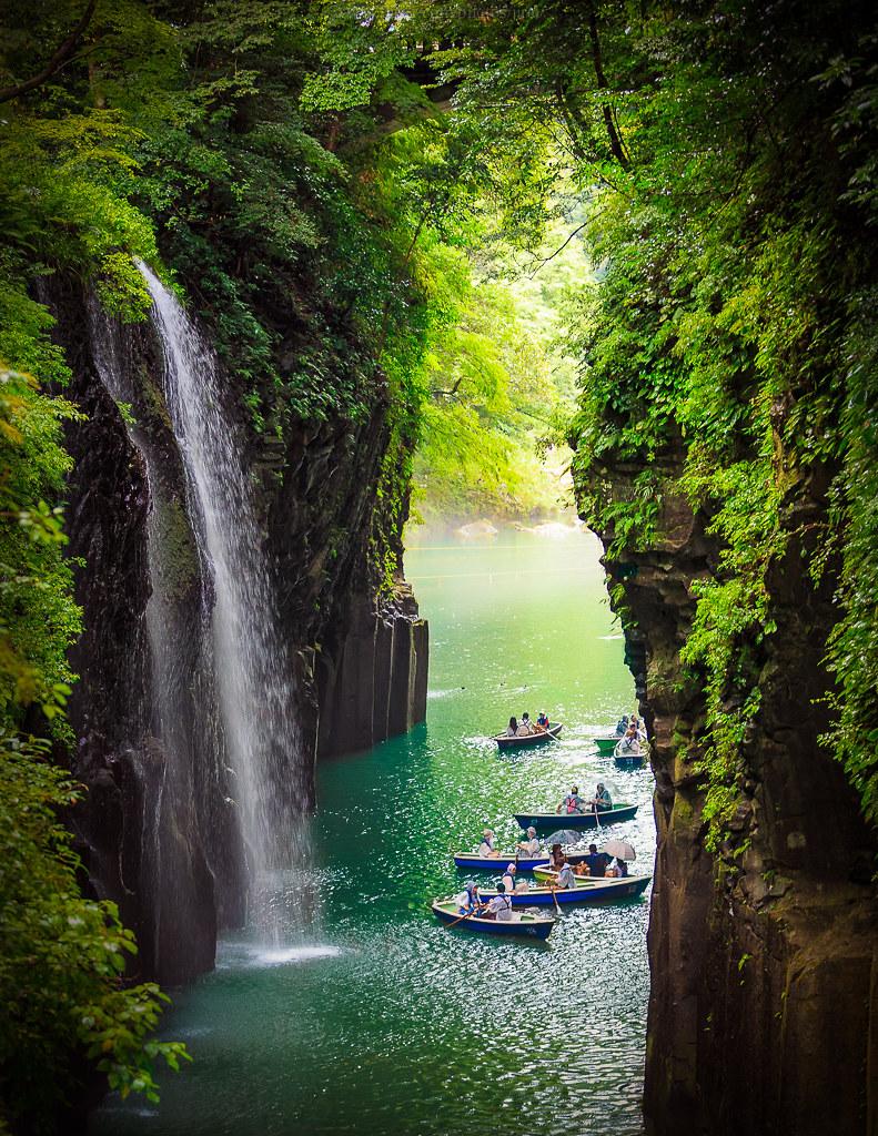 Takachiho Gorge Takachiho Gorge Is A Narrow Chasm Cut