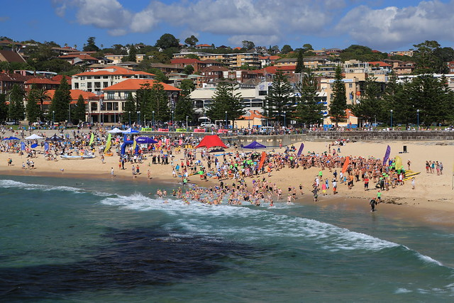 A Colorful Day in Coogee