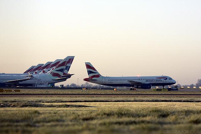 British Airways Airbus A320-232
