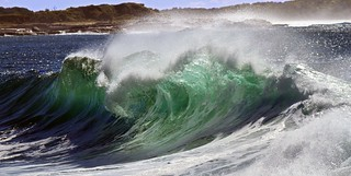 Angry waves at Bluff Beach Iluka | by Graham Cook