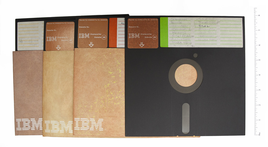 """Floppy Disks -- 8"""""""