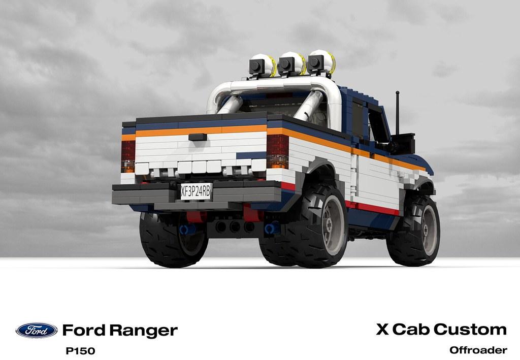Ford Ranger X Cab Pickup (1996 - FNA Custom Offroad)