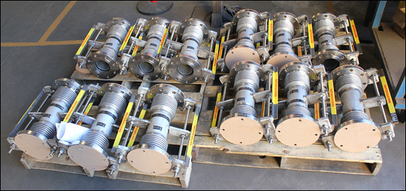 Stainless Steel Universal Expansion Joints for a Pipeline in Taiwan