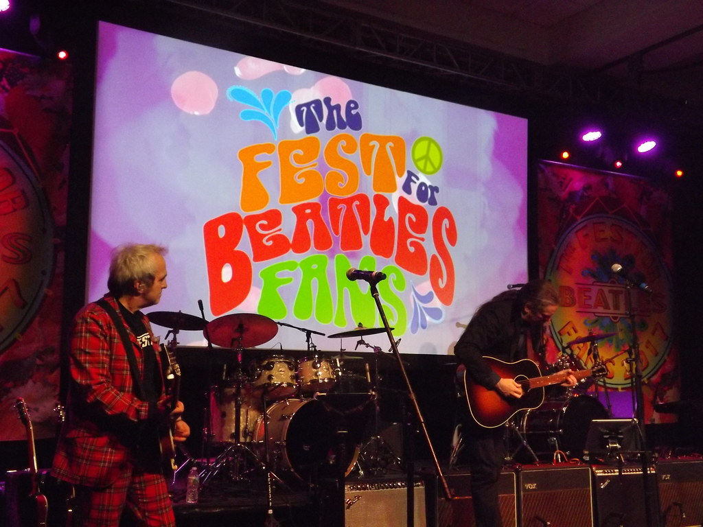 best service abef4 74655 Liverpool Performs at Fest for Beatles Fans, Jersey City ...