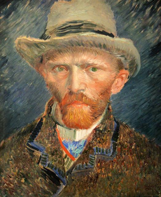 Self-Portrait, Vincent van Gogh (1853-1890)