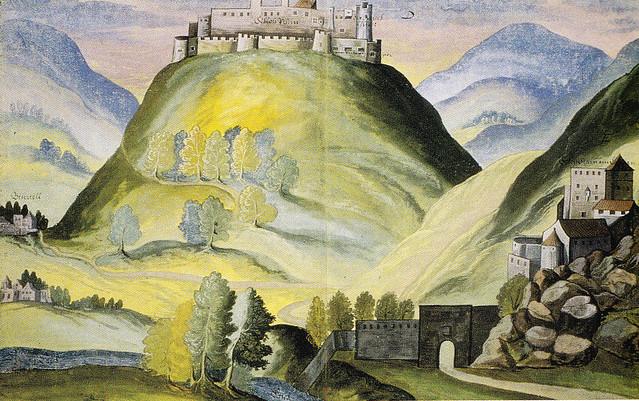 castel beseno e castel pietra