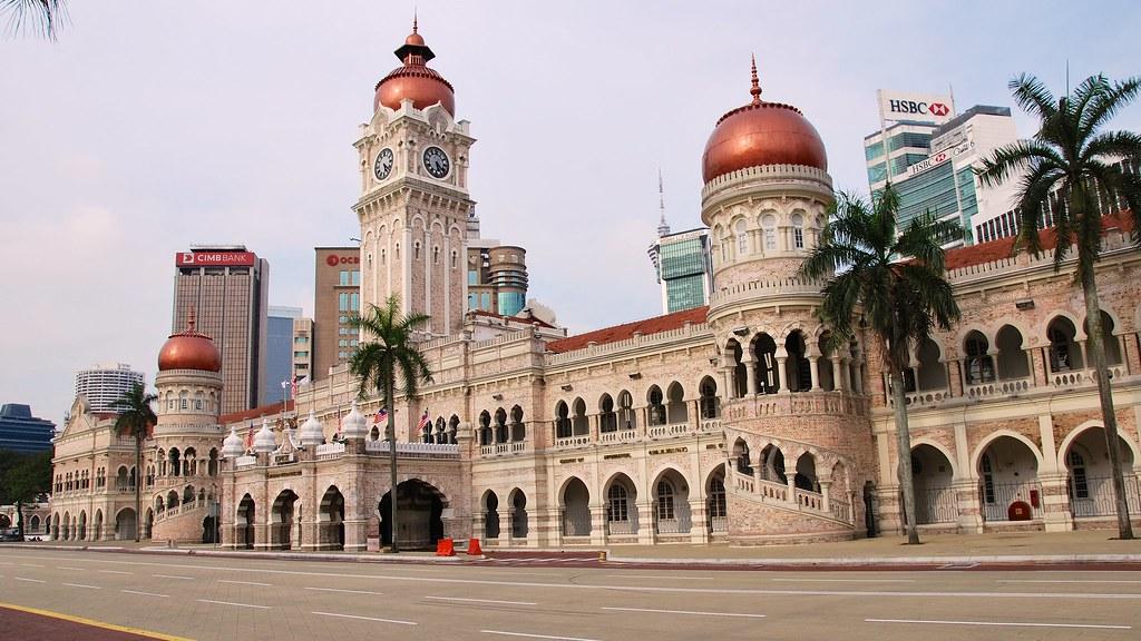 مبنى السلطان عبد الصمد، أحد المزارات السياحية في مدينة كوالالمبور، ماليزيا