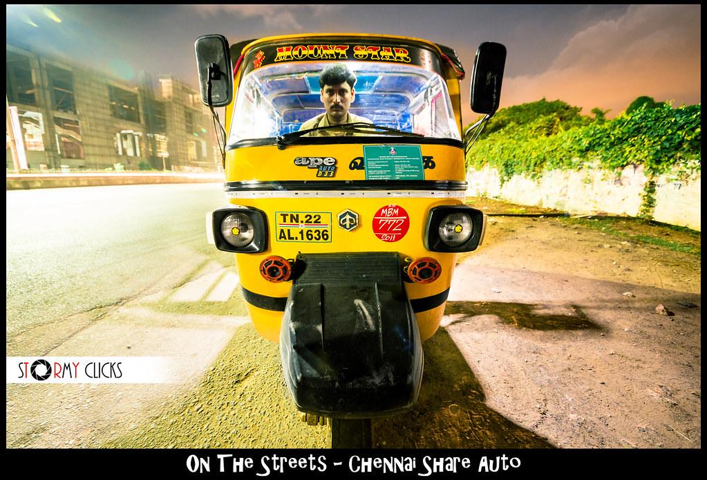 Chennai Share Auto | Chennai's MAAS transit system  | Stormy | Flickr