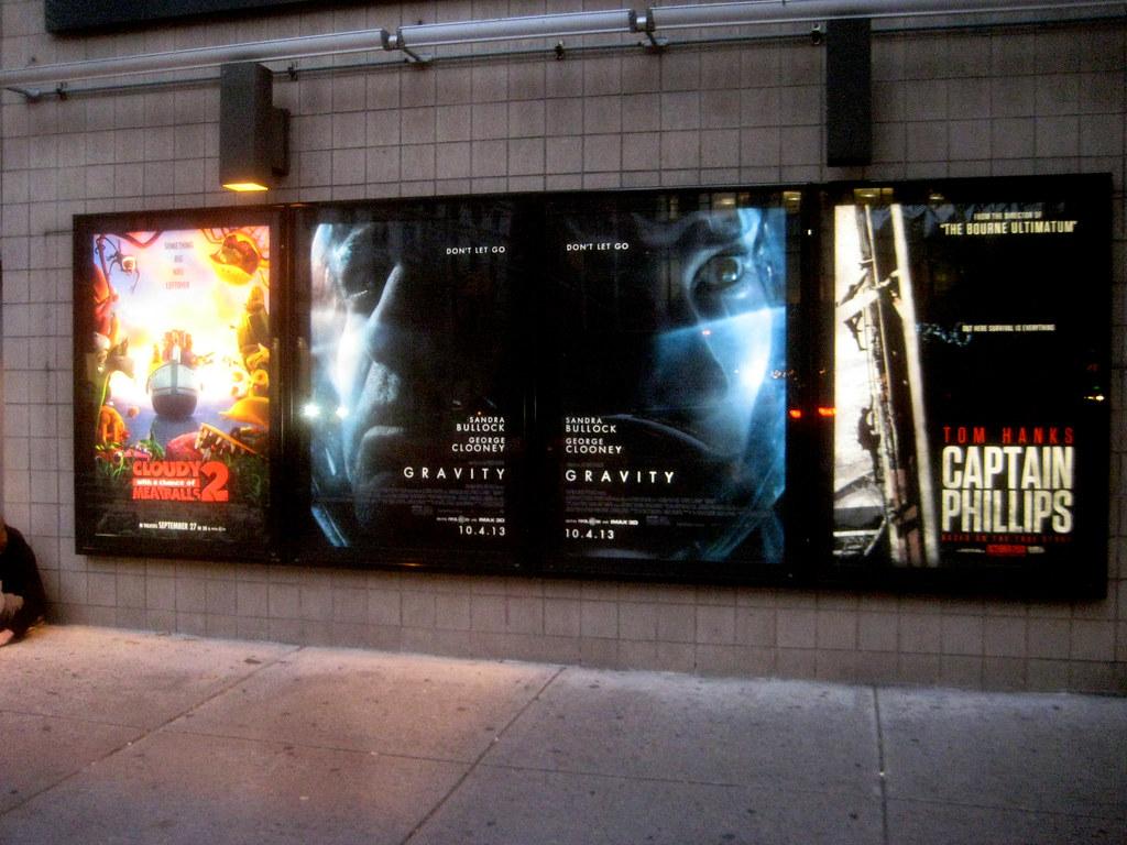 Gravity Movie Poster Billboard Sci-Fi 3D 6630 | Gravity Movi