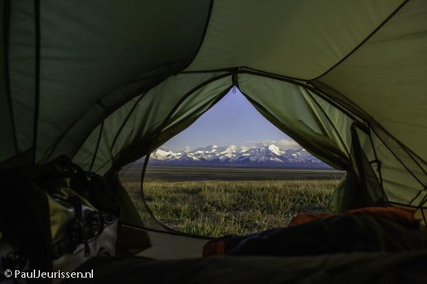 Sarey Tash - view from tent