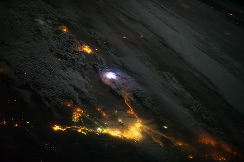 Lightning From Space, and Red Sprites at Night (NASA, International Space Station, 12/13/13) | by NASA's Marshall Space Flight Center
