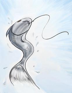 Fishy Tales illustration | by guthriejwatson