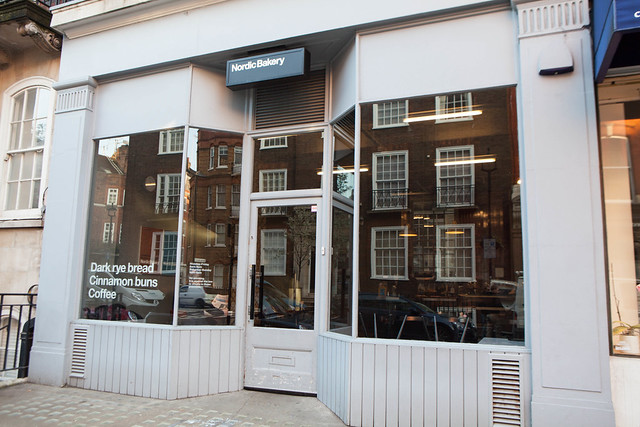 Exterior of Nordic Bakery (Marylebone location)