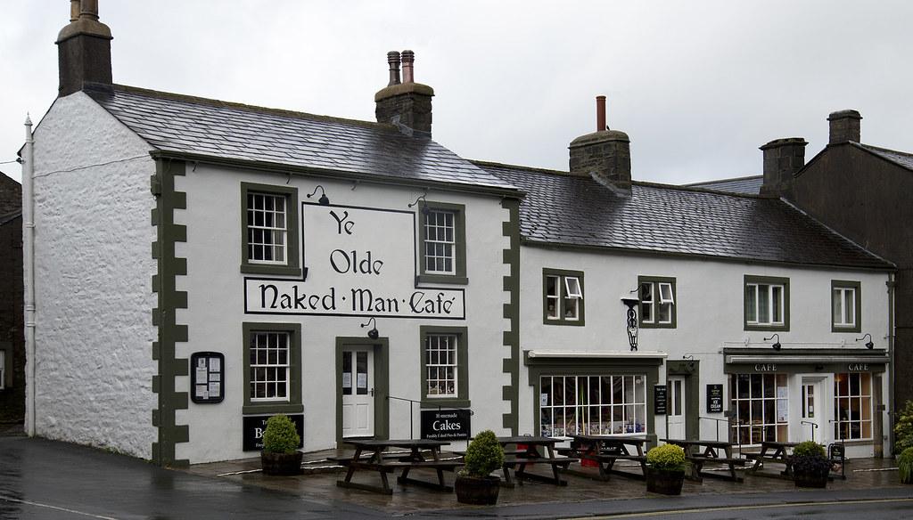 Ye Olde Naked Man Cafe, Bakery and Restaurant, Settle, Nor