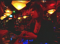 Amsterdam De Wallen Red Light District Thai Bar July 1995 012