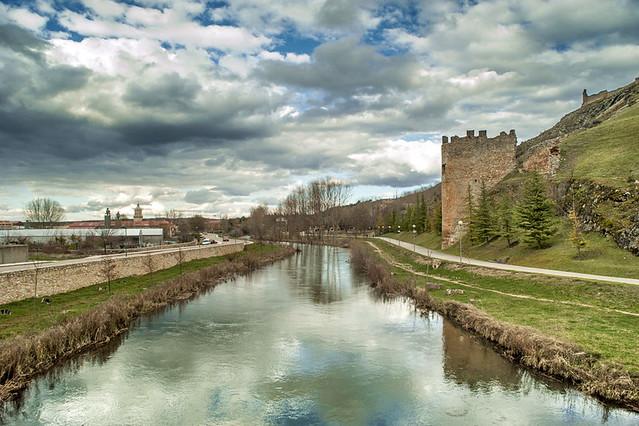 Rio Ucero en Osma - Soria