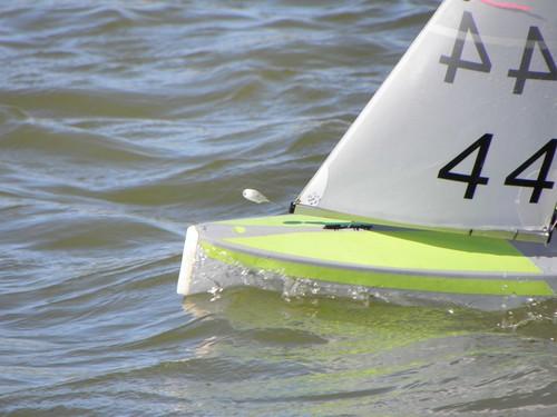 Ian Vickers in USA - New Zealand Radio Yachting Association Inc