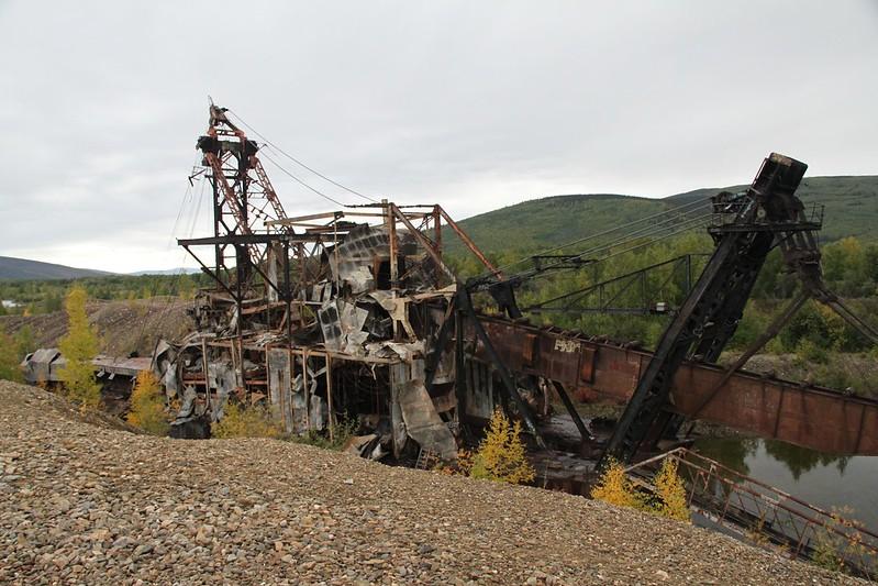 Gold Dredge #3 Chatanika, Alaska