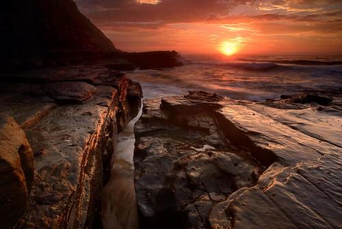 sunrise newcastle australia newsouthwales aus thehill nikond90 paulhollins