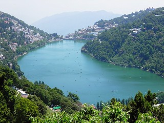 Naini Lake (Top View) | by Anirudh - Singh