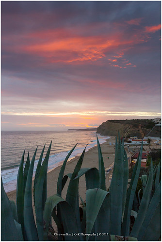 algarve autumn canon coast color europe fall holiday nature portugal seascape sun lagos faro pt sunset red sky clouds cloud cvk chrisvankan cvkphotography flickrtravelaward ngc chris van kan photography best flickr outdoor theroom