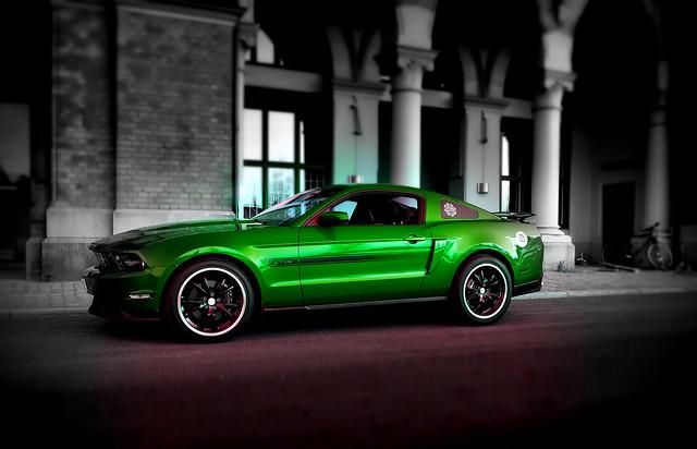 Green & mean.