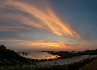 Porth Thomas sky