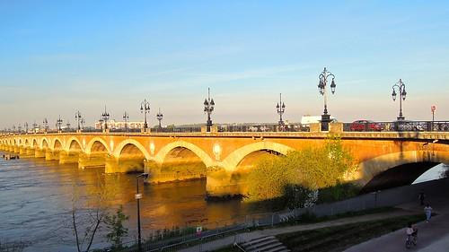 Pont de Pierre, Bordeaux, Nouvelle-Aquitaine | by David McKelvey