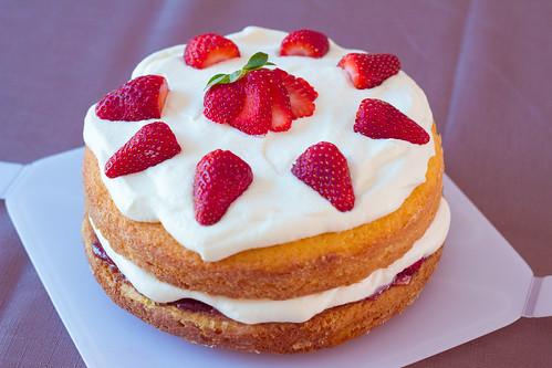 Victoria Sponge Cake | by Kelly Hunter