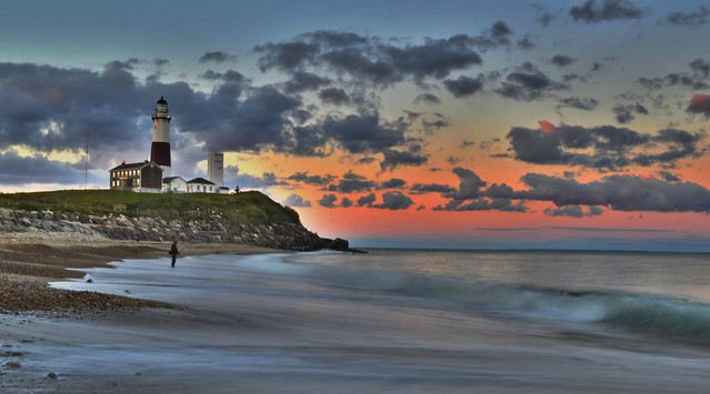 Last Light at Montauk Point