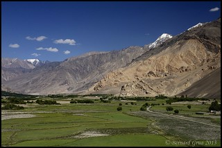 Wakhi fields are maintained like gardens, Afghanistan © Bernard Grua | by Photos de voyages, d'expéditions et de reportages