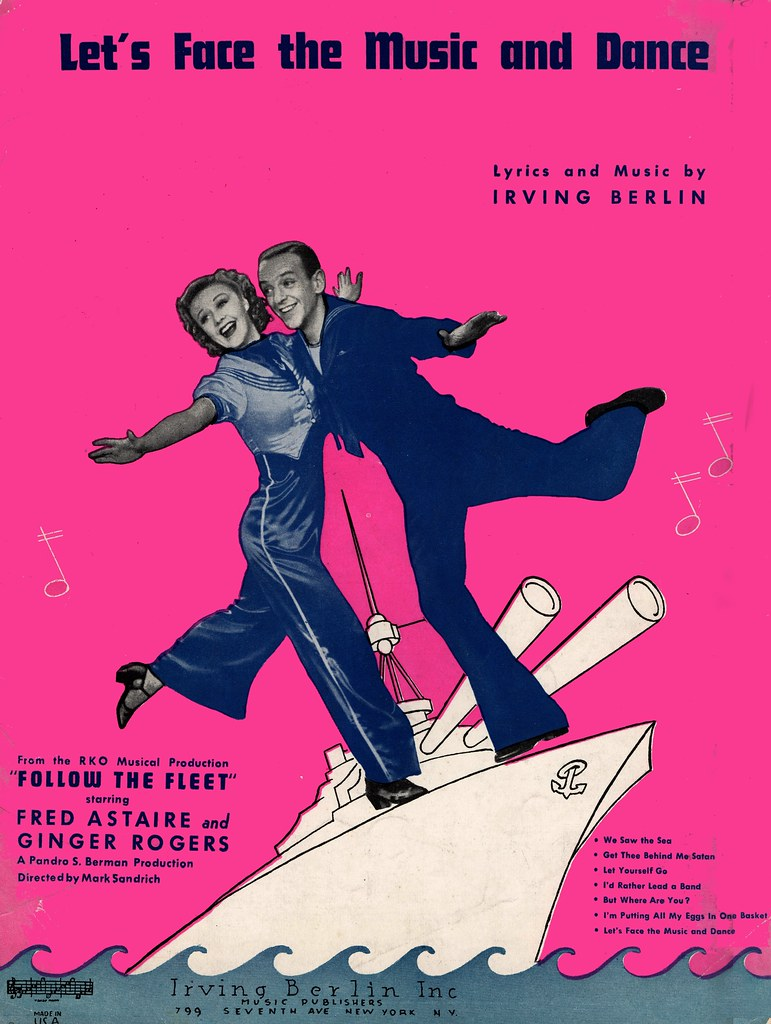 RKO's FOLLOW THE FLEET (1936) Fred ASTAIRE, Ginger ROGERS