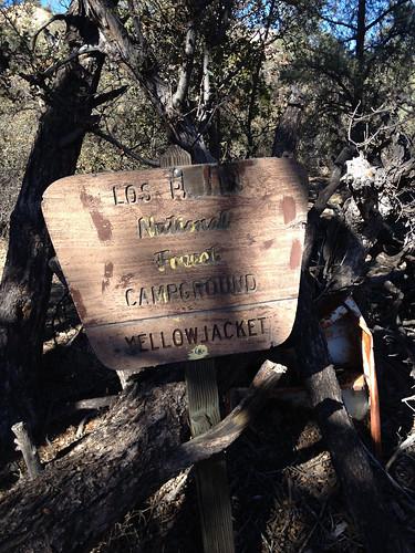 Yellowjacket Camp Sign No. 1 | by umotamba