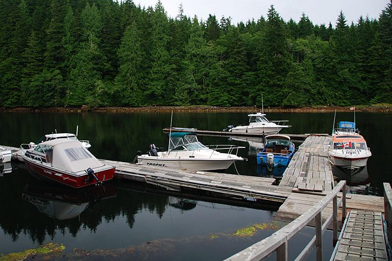 Holberg Yacht Club, Koprino Harbour, Quatsino Sound, Holberg, Vancouver Island, British Columbia
