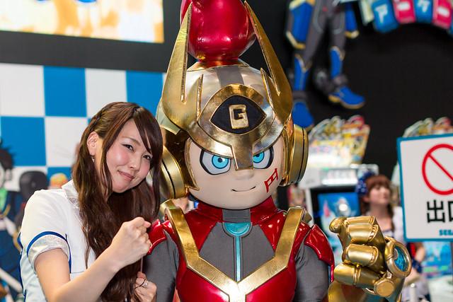 SEGA -Japan Amusement EXPO (JAEPO) 2014 (Makuhari, Chiba, Japan)