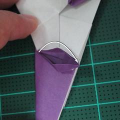 วิธีพับกระดาษเป็นรูปนกอินทรี (Origami Eagle) 024