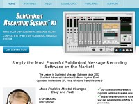 Get Subliminal Message Software – Make your own subliminal