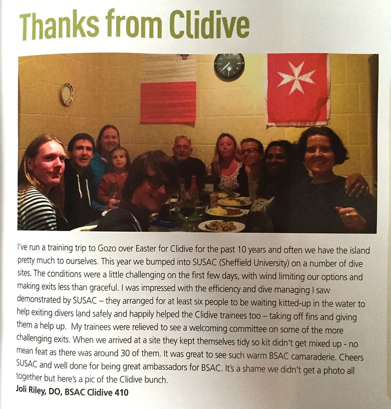 CliDive Thanks